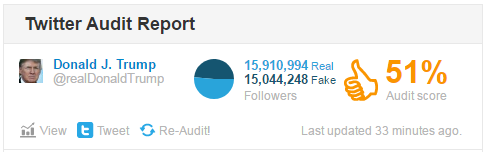 twitter audit report trump