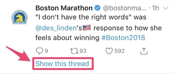 boston marathon twitter thread