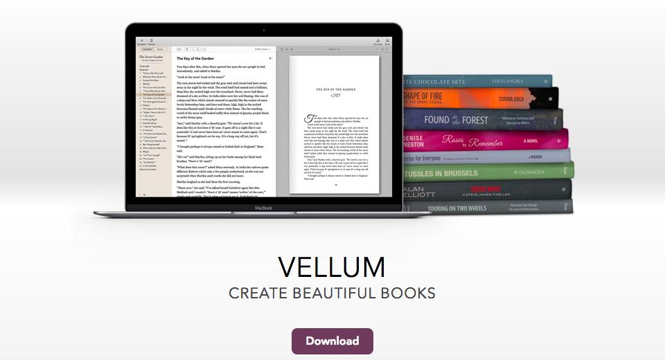 ebook content with vellum