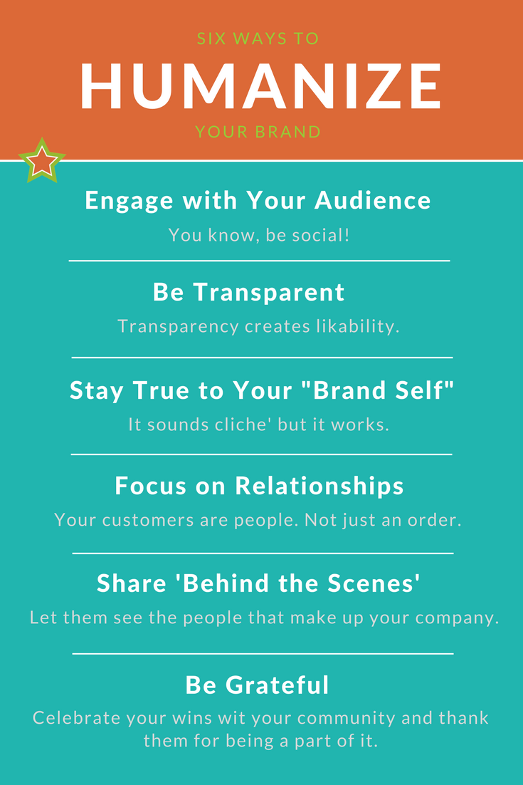 ways to humanize your brand