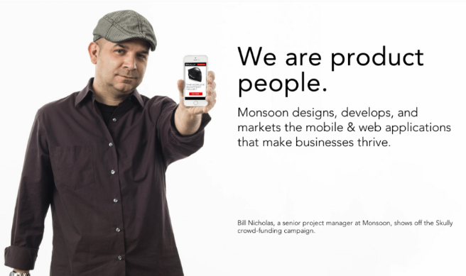 we are product people headline