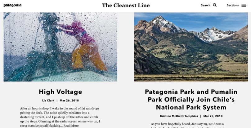 the cleanest line patagonia blog