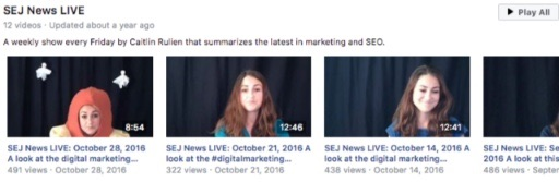 search engine journal facebook live