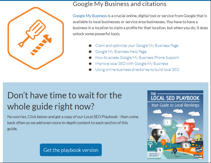 google my business and citations