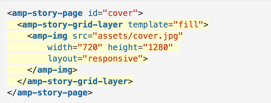 layer code for AMP