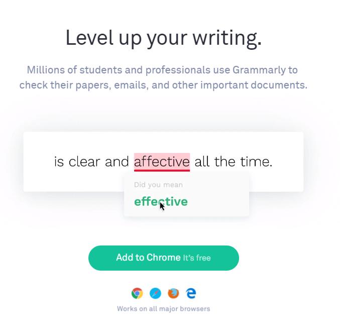 level up your writing chrome