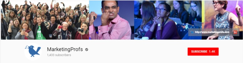 marketingprofs youtube cover image