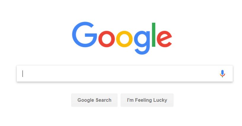 google homepage 2018