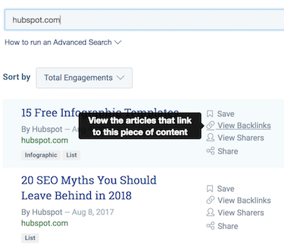 view backlinks