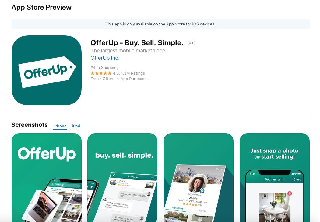 offer up
