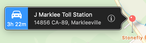 J Marklee Toll Station