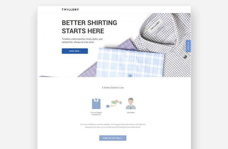 High-Converting Landing Page: Twillory