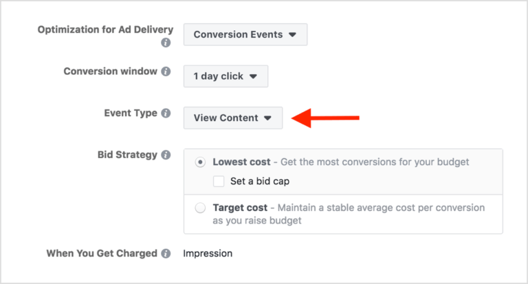 optimizing a Facebook dynamic ad