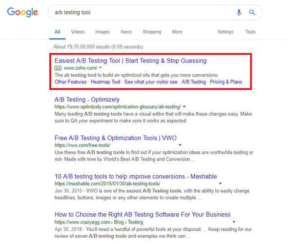 Boosting B2B conversion rates by using PPC to dominate the SERPs