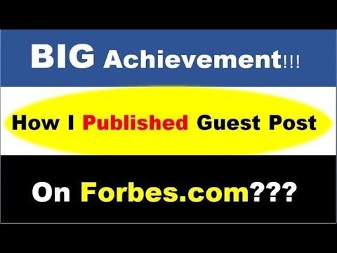1 Actionable Link Building Strategy: How I Published Guest Post On