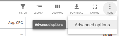 Screenshot showing how to remove an unwanted ad extension