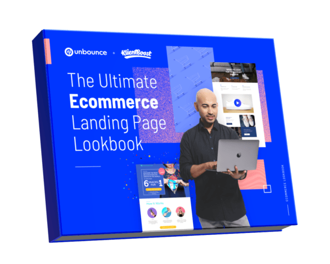 Unbounce - The Ultimate Ecommerce Landing Page Lookbook