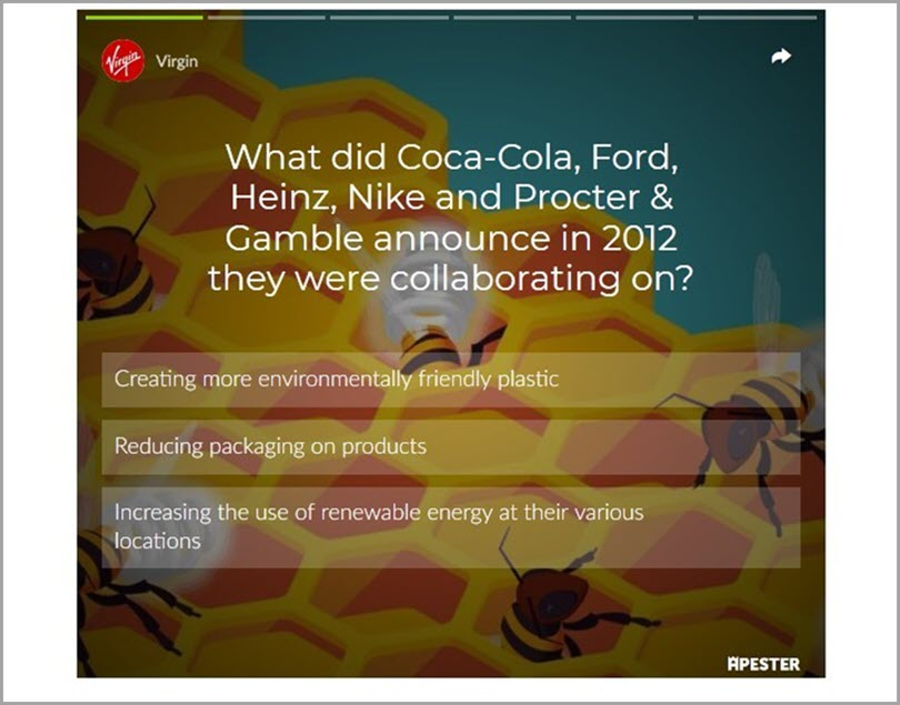 Induce Important Branded Visuals and Designs for personalized quizzes
