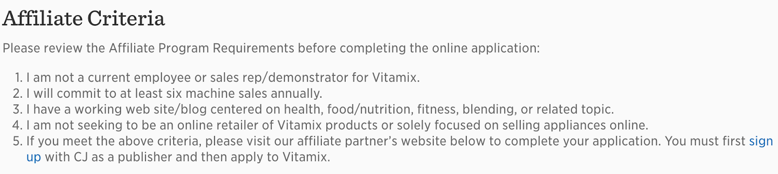 How to Become a Vitamix Affiliate Vitamix