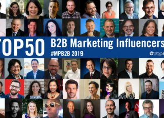 B2B Marketing Influencers 2019