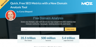 Announcing Quick, Free SEO Metrics with a New Domain Analysis Tool
