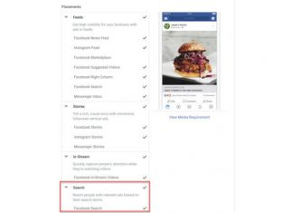 Facebook opens search ads to all advertisers