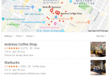 ranking-on-google-maps-coffee-shops