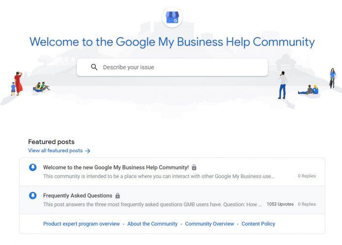 Google My Business Help Community