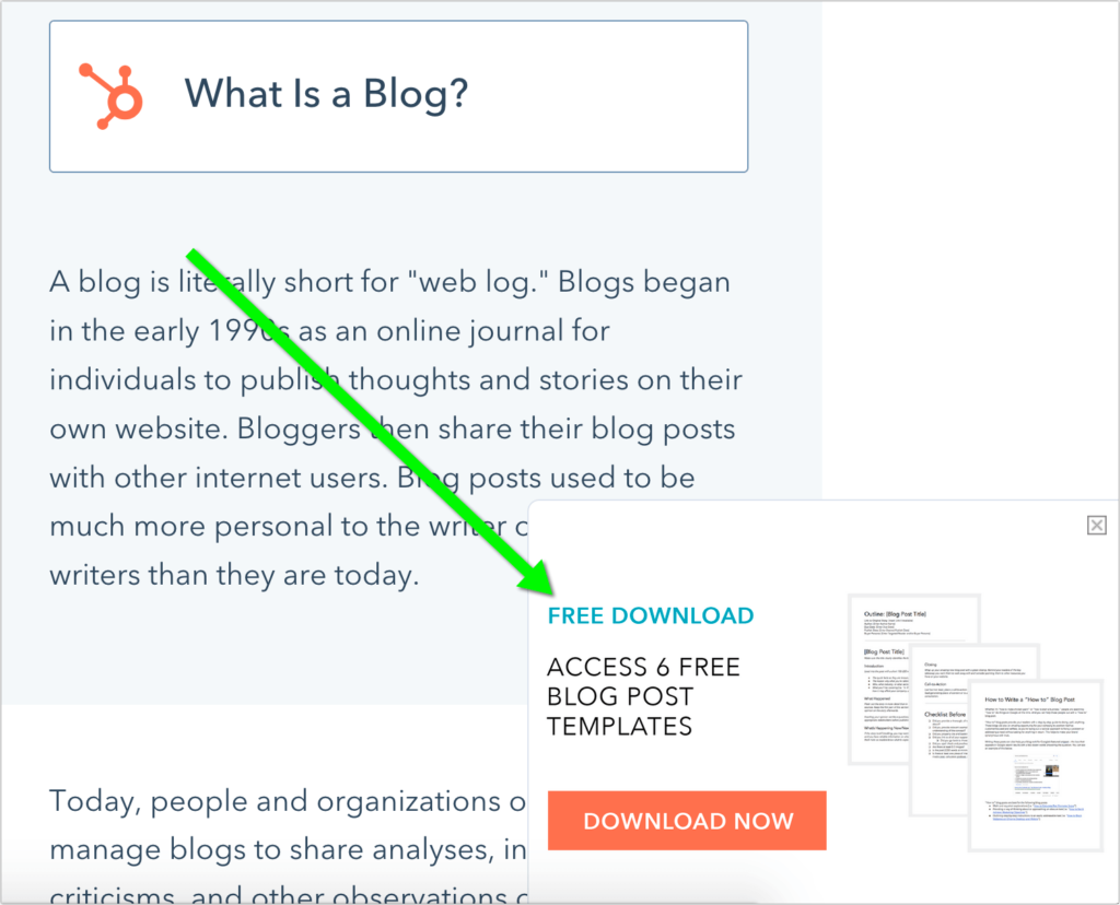 How Hubspot integrates content to build engagement based conversion channels