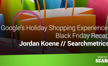 Google's Holiday Shopping Experience: Black Friday Recap