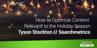 How to Optimize Content Relevant to the Holiday Season