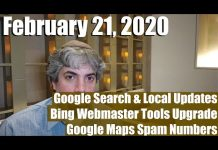Google Search & Local Updates, New Bing Webmaster Tools, EAT, BBB, Maps Spam & More