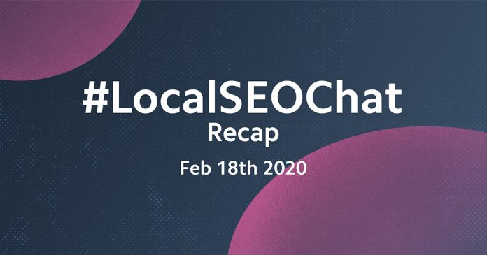 Local Search FAQs Answered! #LocalSEOChat Recap