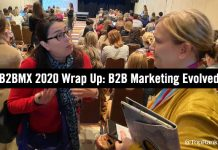 B2BMX B2B Marketing Wrap Up
