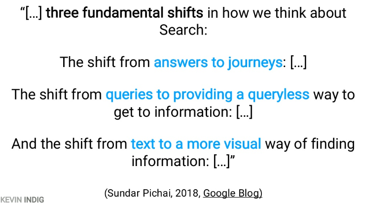 Quote from Google blog