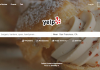 Yelp homepage