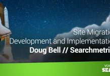 Site Migration Development and Implementation