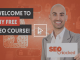 Your Free SEO Training Course