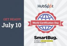 SmartBug Media® is partnering with HubSpot, Inc.to host World Certification Day on July 10, 2020, encouraging businesses around the to provide ongoing education opportunities to employees during regular working hours. For more information, visit https://offers.hubspot.com/certification-day.