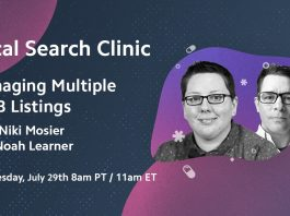 Local Search Clinic: Managing Multiple GMB Listings with Niki Mosier and Noah Learner - Recap