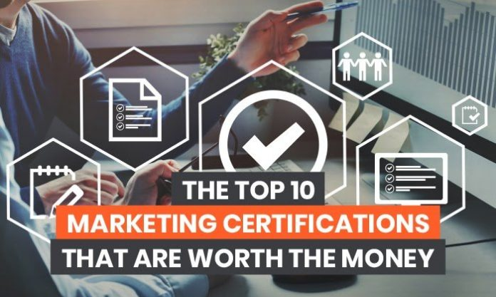 The Top 10 Marketing Certifications That are Worth the Money