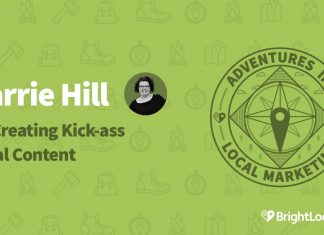 Carrie Hill on Creating Kick-ass Local Content
