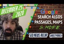 Google Search Algorithms, Passage Indexing, Local & User Interface Changes