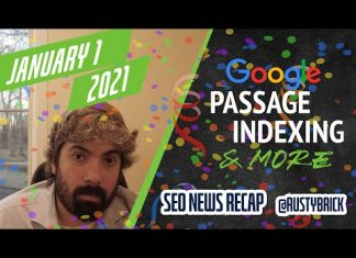 Christmas Google Update, Passage Indexing Interface & Search Interfaces