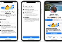 Facebook Pages Redesigned, 5 New Features Added
