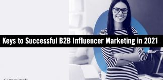 Keys to Success B2B Influencer Marketing 2021
