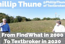 Vlog Episode #102: Phillip Thune On The FindWhat Days In 2000 To Running Textbroker in 2020