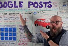 Google Posts: Conversion Factor — Not Ranking Factor