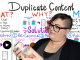 How to Resolve Duplicate Content