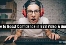 confidence b2b content audio video